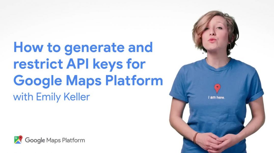 How to generate and restrict API keys for Google Maps Platform