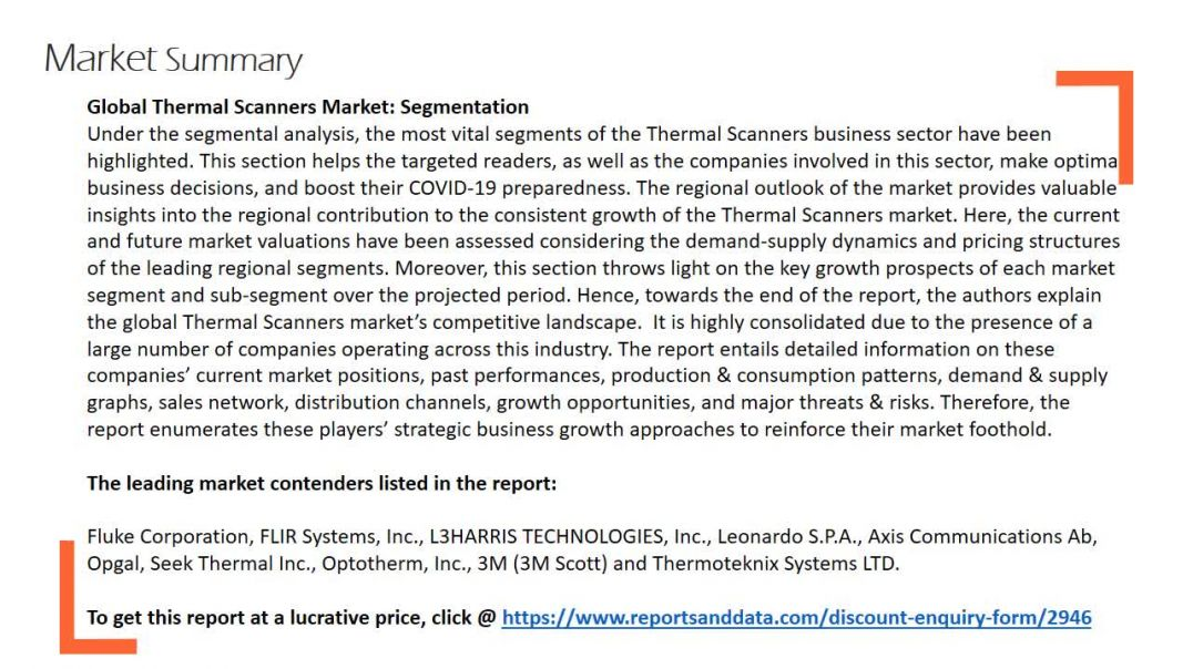 Thermal Scanners Market