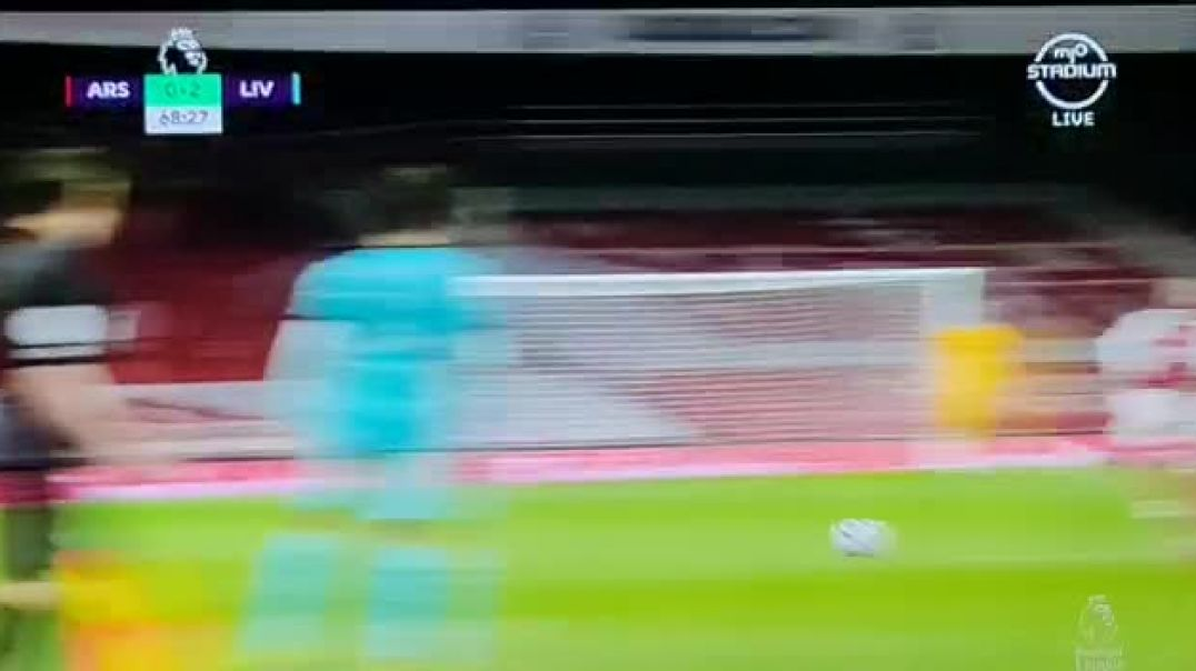 Mohamed Salah's goal against Arsenal