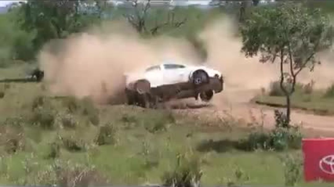 The Beast in the East African Equator Rally